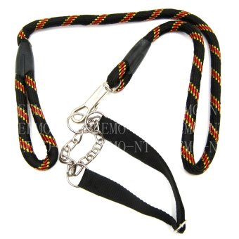 Beemo-NT Dog Collar/ Chain 120 CM Rope (Black)
