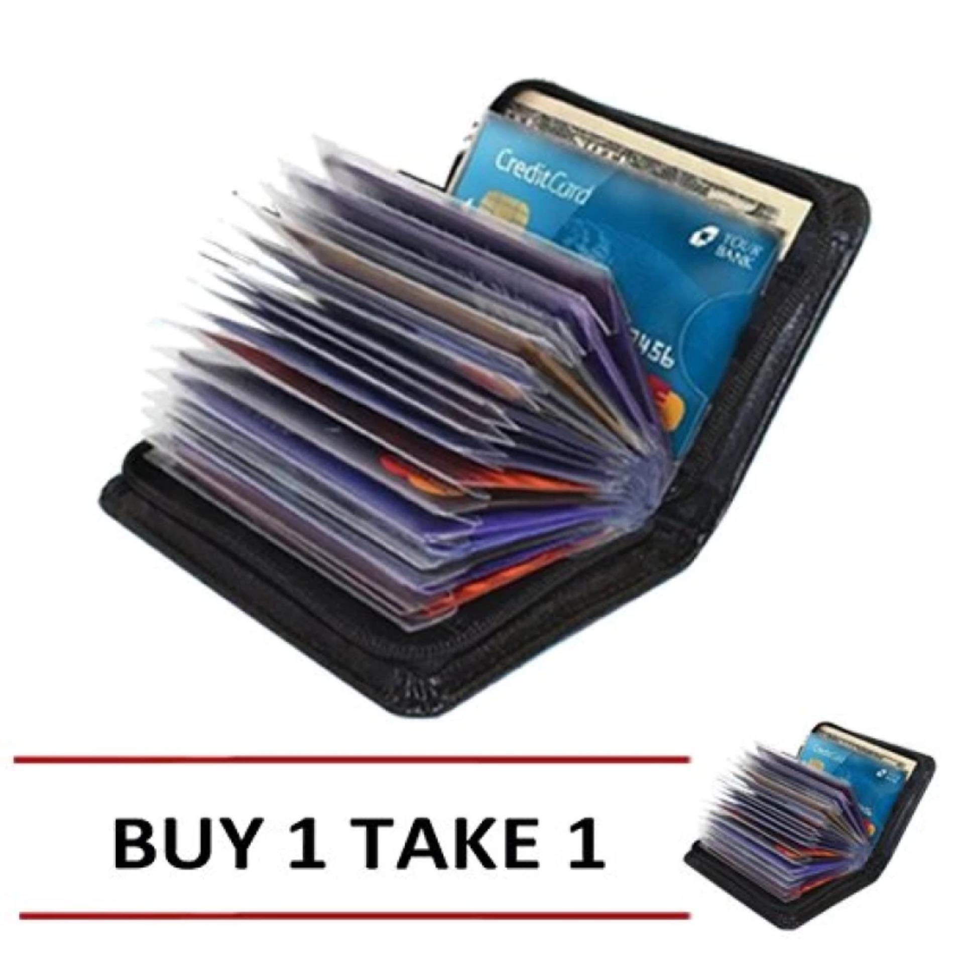 Below SRP Security Lock Wallet ATM Credit Card Wallet Buy 1 Take 1