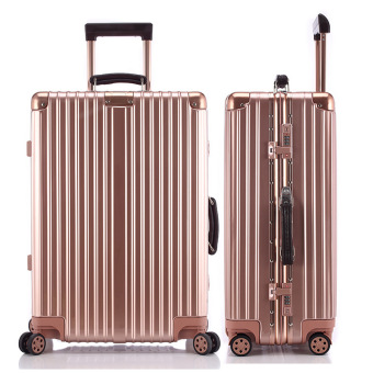Best Cabin Luggage Sale Brand suitcase Sizes 29 Inch Rose Gold - intl Price Philippines