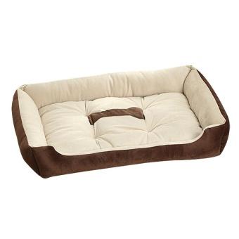 Big Size Large Dog Bed Kennel Mat Soft Fleece Pet Dog Puppy WarmBed House Plush - Black XS - intl - 4
