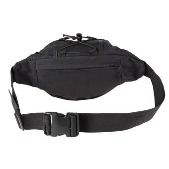 Black Outdoor Military Tactical Waist Pack Shoulder Bag Molle Camping Pouch - 4