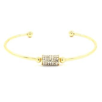 Bling Bling Petunya Gold Bracelet Bangle Jewelry
