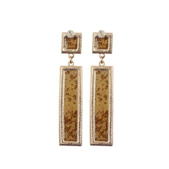 Bling Bling Sparkle Drop Earrings - picture 2