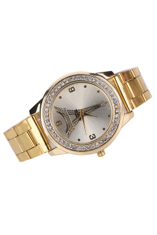 Bluelans® Women's Gold Stainless Steel Band Watch - picture 2