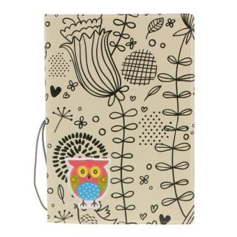 Philippines BolehDeals Cute Owl Passport ID Card Protector PVC Leather Holder for UK .