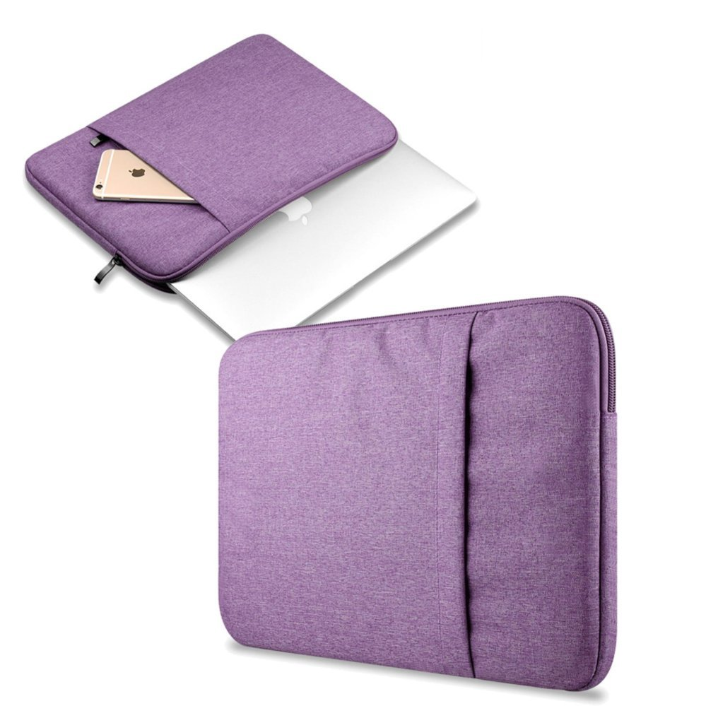 Bora 15.4'' Waterproof Laptop Sleeve Case HandBag Protective Coverfor Apple AlienwareMac,Micro Surface,Acer, Asus, Dell, Fujitsu,Lenovo, HP, Samsung, Sony, Toshiba (Purple) - intl