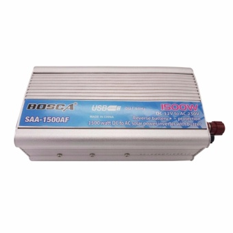 Bosca SAA-1500AF 1500W 12V DC To 220-230V AC Car Home Solar Power Inverter with Buzzer #0124