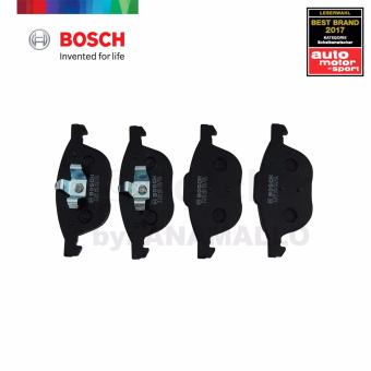 Bosch Front Brake Pads BP1005 for Ford EcoSport 1.5 Ti-VCT, Ford Focus 1.6 Ti-VCT/ 1.6i / 1.8i / 2.0 /2.0 TDCi / 2.0i, Mazda 31.6 / 32.0 ,Volvo C30 2.0/ C30 2.4 i / C30 T5 & OTHERS - 2