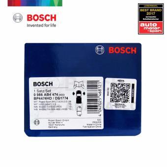 Bosch Front Brake Pads BP4474 For Mitsubishi Montero Sport 2.5 GT Diesel, Mitsubishi Pajero Sport 2.5 TD / 3.2 GT Diesel 4WD & Mitsubishi Strada 2.5 TD VGT / 2.5 TD VGT 4x4 - 3