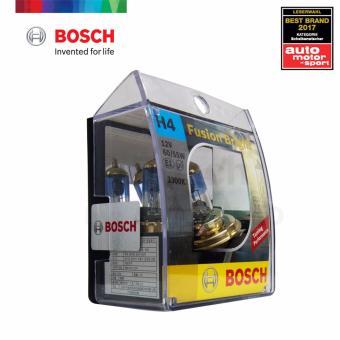 Bosch Fusion Bright H4 Halogen Bulb 12v 60/55w (Gold) - 2