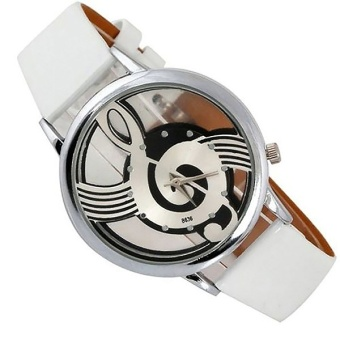 Bounabay Luxury Design Quartz Analog Hollow Music Note G4 G ClefWatch - intl Price Philippines