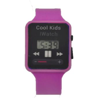 Boys Girls Students Time Electronic Digital LCD Wrist Sport Watch 21g