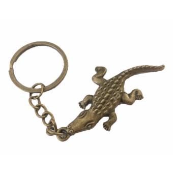 Bronze Color Crocodile Charm Key Chain Animal Charm Keychain BUY 1TAKE 1 - 4