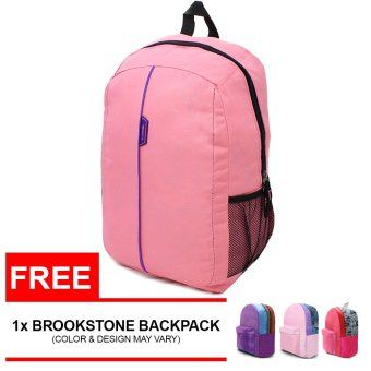 Brookstone Luxcel Heriot Backpack with FREE Assorted BrookstoneBackpack