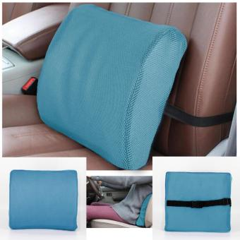 Brookstone Memory Foam Lumbar Back Support Cushion Pillow for CarSeat Chair