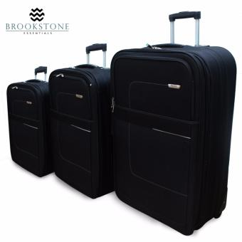 "Brookstone Skyline Travel Luggage Set of 3 (22""/25""/29"") Price Philippines"