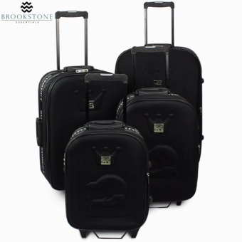 "Brookstone Sumeet King Travel Luggage Set of 4 Size (15""/19""/23""/27"")"