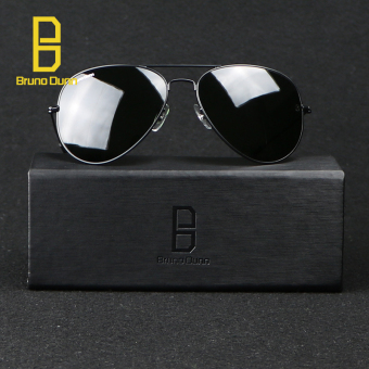bruno dunn Sunglases aviator 3025 Classic Coating Shades Designer Sunglasses UV400 Anti-UV (Black) g15 58mm - intl - 2