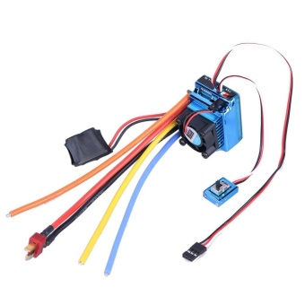 Brushless 120A ESC Sensor Brushless Speed Controller for 1:8 1:10RC Car - intl
