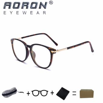 [Buy 1 Get 1 Freebie] AORON Brand Retro Reading Glasses Anti-fatigue Computers Glasses Anti-blue Light Eyeglasses 3631(Tortoiseshell) - intl
