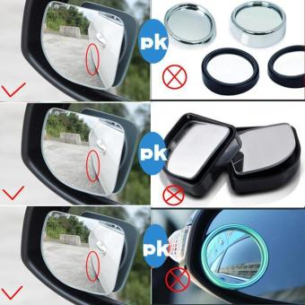 BUYINCOINS 2Pcs Car 360 Degree Adjustable Motorcycle Blind SpotRear View Mirror Accessories - intl - 4