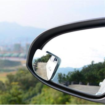 BUYINCOINS 2Pcs Car 360 Degree Adjustable Motorcycle Blind SpotRear View Mirror Accessories - intl