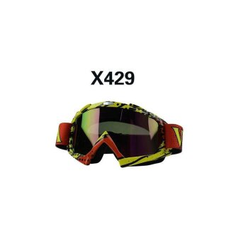 BUYINCOINS Off Road Riding Motorcycle Motocross Bike Dirt Bike Goggles Windproof EyeWear - intl