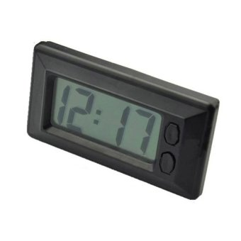 C33 Auto Car Mini Digital Interior LCD Screen Clock AutomotiveClock Calendar electronic meter - intl