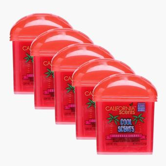 California Scents Cool Scents Coronado Cherry Air Freshener (Set of 5)