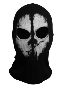 Call of Duty Cosplay #01 Balaclava Ghost Skull Face Masks forMotorcycle Cycling CS - intl