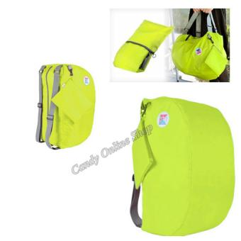 Candy Online 3-Way Easy To Carry Foldable Bag (Green)