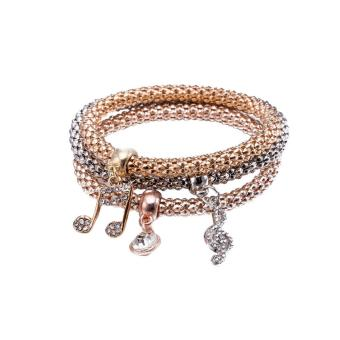 Candy Online European Fashion Women Three-piece Bracelet JewelryFSH280 Price Philippines