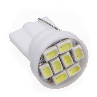 Car 8 LED SMD Light 2 Piece Set (White) - picture 2