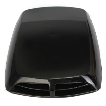 Car Air Flow Intake Bonnet Vent Cover Decorative Engine Hood ScoopUniversal - intl
