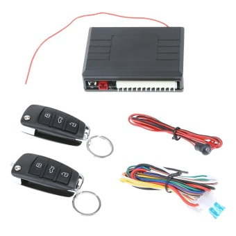 Car Alarm Auto Remote Control Central Locking Door Kit KeylessEntry System - intl