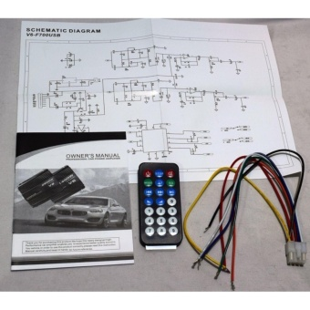 Car amplifier 4 channel 2800 Watts comes with usb/bluetooth - 4