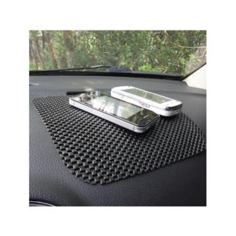 Car Anti Slip Mat black 2pcs