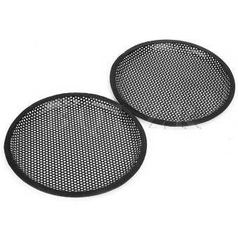 Car Audio iron mesh grill Subwoofer Speaker Cover Set of 2 - picture 2