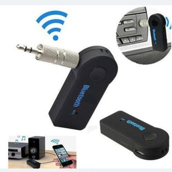 Car AUX Bluetooth Wireless Stereo Audio Music Receiver Adapter vehicle/headphones/stereo