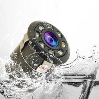 Car Backup Rear View Reverse Parking 8 LED Night Vision HD Camera -intl - 3
