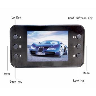 "Car Camera 2.4""LCD 1080P HD Dash Cam Video Recorder Night Vision Mini Camera DVR Tachograph With Car-Charger car accessories"