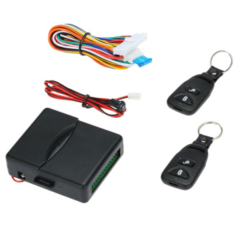 Car Door Lock Keyless Entry System Remote Central Control Box Kit - intl