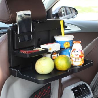 Car drink holder tray car mounted dining table