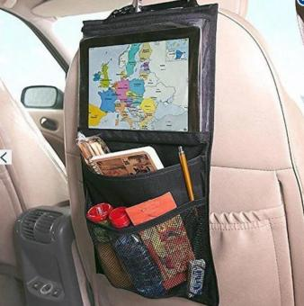Car Headrest Hanging Seat Bag Tablet Car Storage Holder Back SeatBag Organizer for iPad Kindle