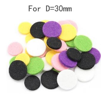 Car Perfume Supplemental Pad Essential Oil Diffuser Cotton Decorate Jewelry Mat - intl - 3
