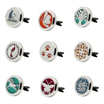 Car Perfume Supplemental Pad Essential Oil Diffuser Cotton Decorate Jewelry Mat - intl - 2