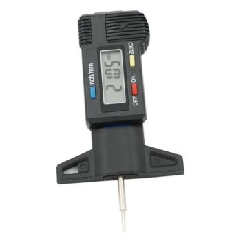Car Tire Tester Brake Digital Tyre Depth Gauge Tread Monitor AutoTires Pressure Measurement - intl - 3