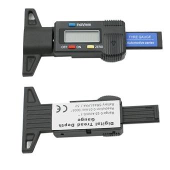 Car Tire Tester Brake Digital Tyre Depth Gauge Tread Monitor AutoTires Pressure Measurement - intl - 5