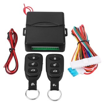 Car Universal Door Lock Keyless Entry System with Trunk ReleaseRemote Central Control Kit - intl Price Philippines