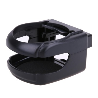 Car Universal Folding Cup Holder Drink Holder Multifunctional AutoSupplies - intl